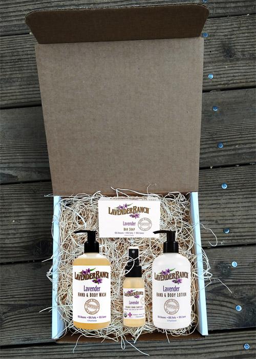 Lavender-Gift-Box