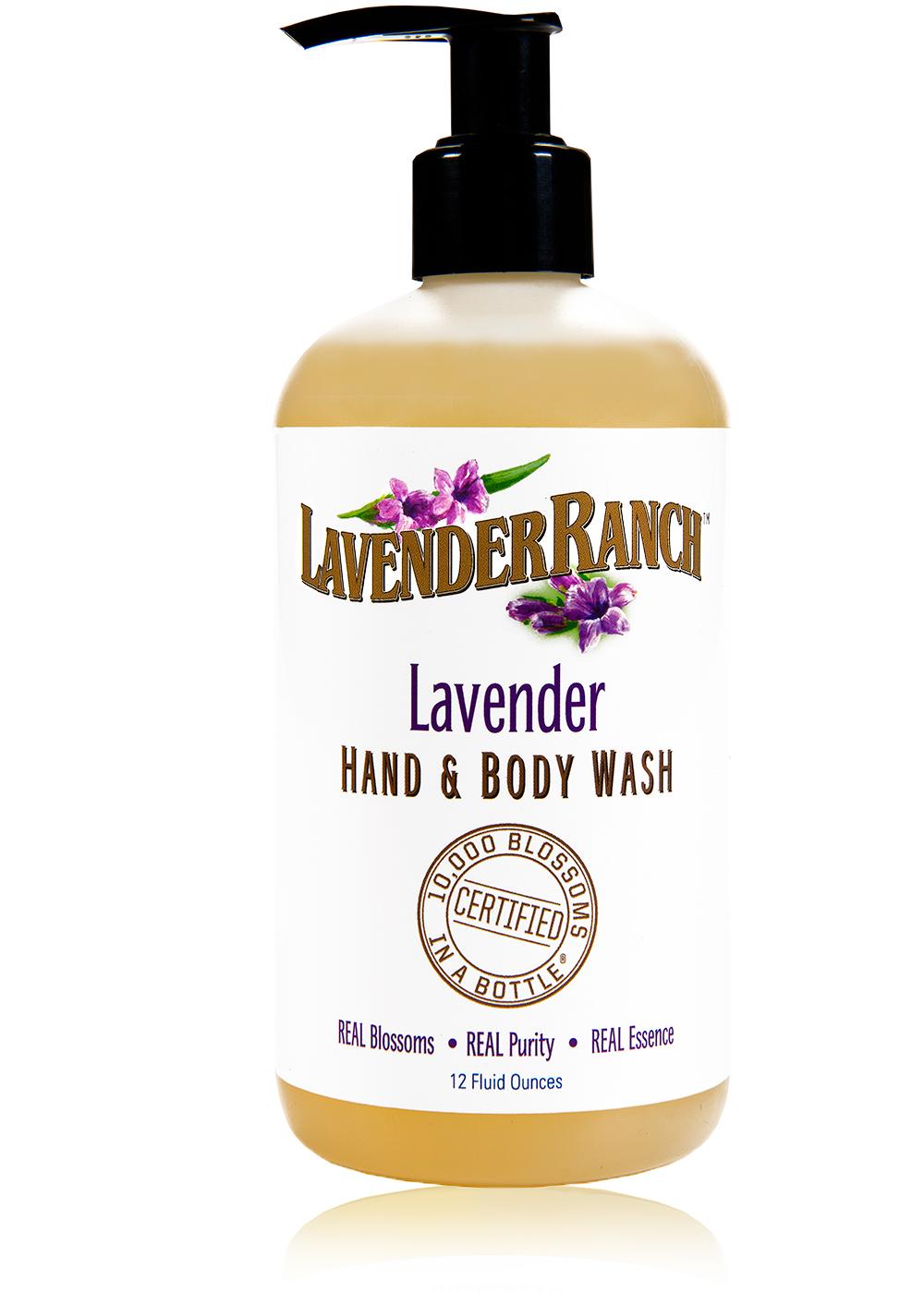Lavender Hand & Body Wash - 12oz